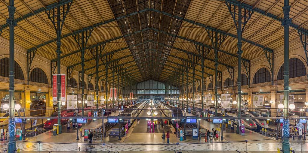 Bahnhof Paris Gare du Nord Nordbahnhof