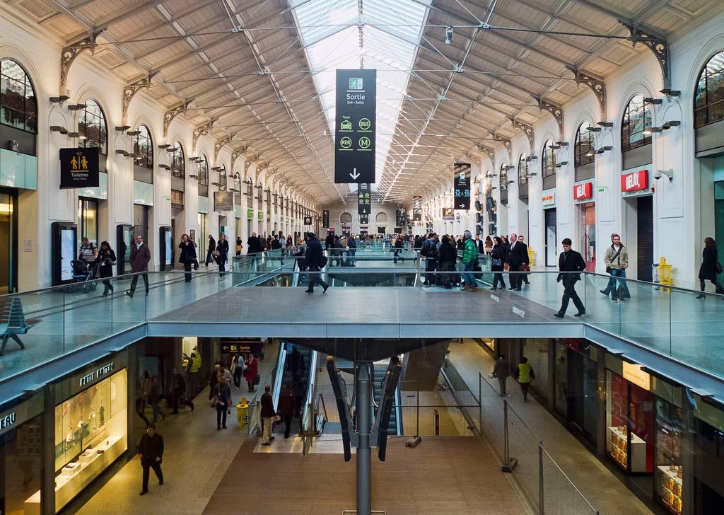 Paris Bahnhof Gare Saint Lazare