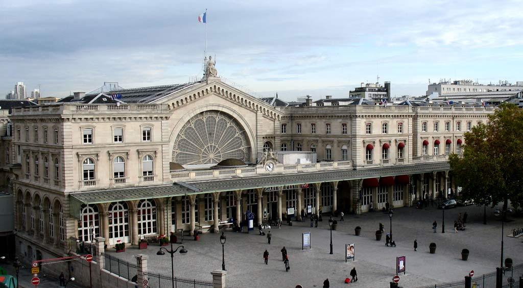 Paris Bahnhof Gare de l'Est Ostbahnhof