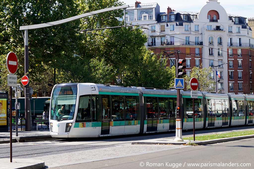 Tram Straßenbahn Paris