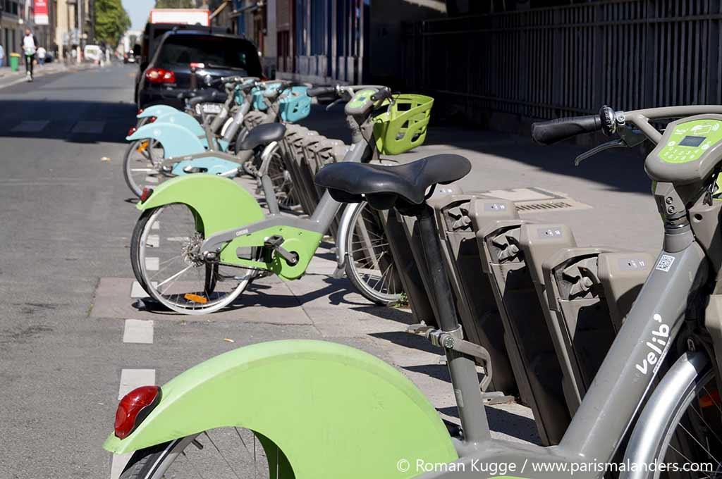 Velib Leihräder Paris