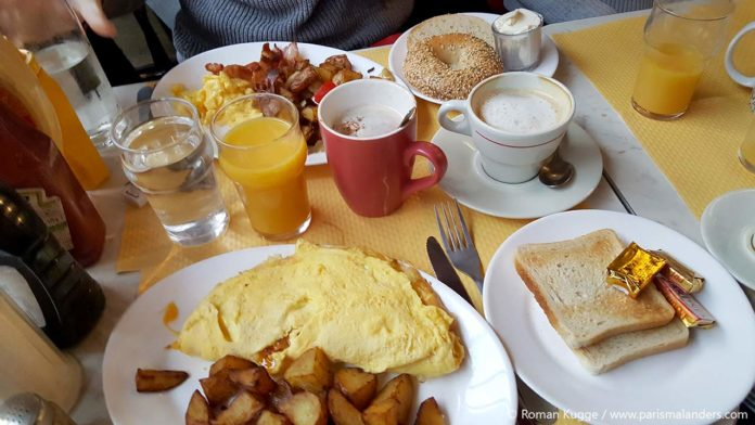 Brunch Paris Breakfast in America