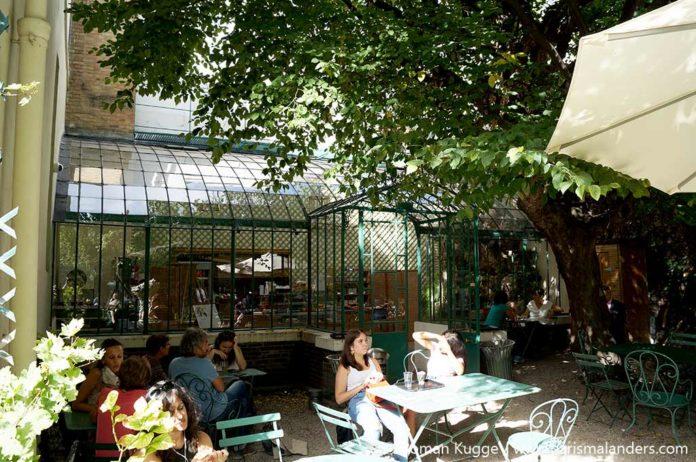 Café im Musée de la Vie Romantique in Paris