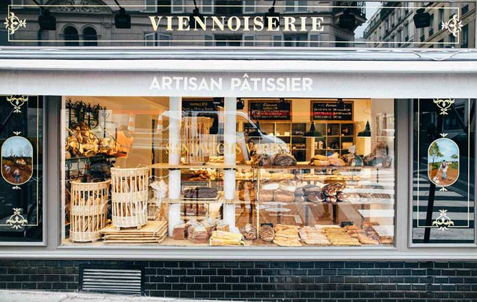 Maison Landemaine Bäckerei Paris