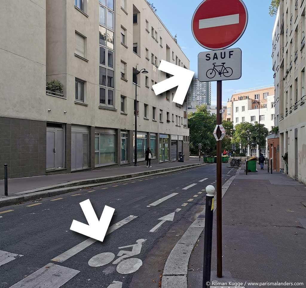 Fahrradwege Paris