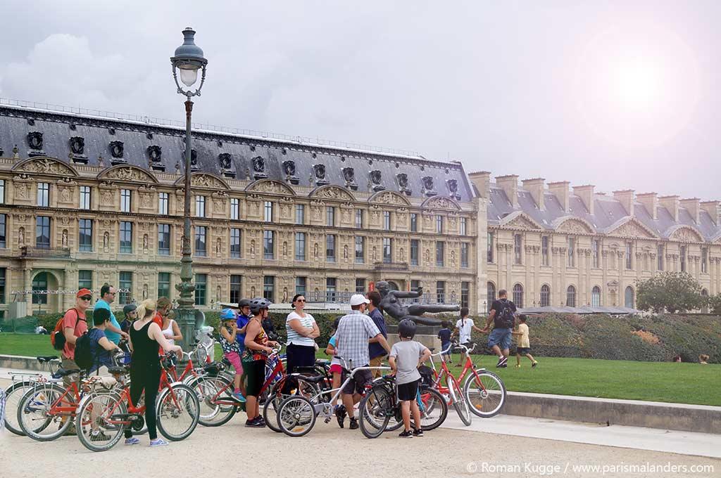 Paris mit dem Fahrrad