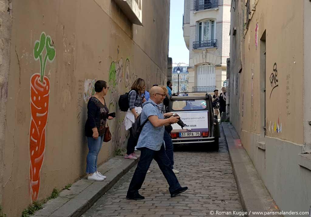 Stadtrundfahrt Ente Paris